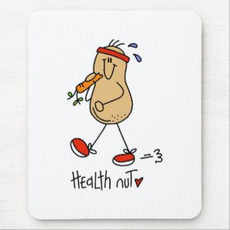 Gesundheits-Nuss Mousepad