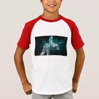 Gesundheitssystem-Netz als Digitaltechnik T-Shirt