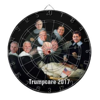 Gesundheitswesen-Farce von 2017 Dartscheibe