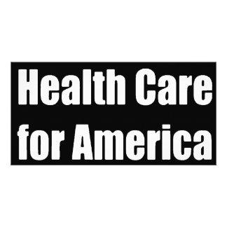 Gesundheitswesen für Amerika-Stoßdämpfer Foto Grußkarte