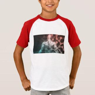 Gesundheitswesen-Netz und medizinische T-Shirt