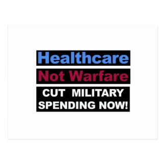Gesundheitswesen-nicht Kriegsführung Postkarte