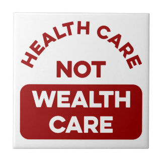 Gesundheitswesen-nicht Reichtums-Sorgfalt Fliese