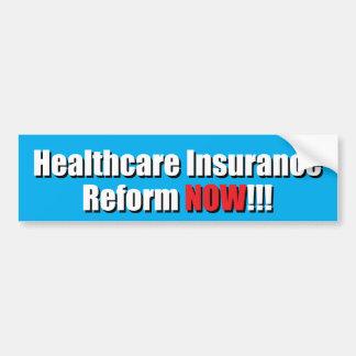 Gesundheitswesen-Versicherungs-Reform JETZT!!! Autoaufkleber