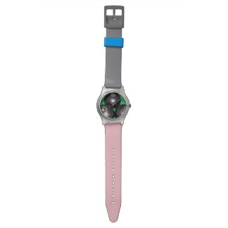 Get_Out_And_Bowl, _Ladys_Pink_Grey_May_Watch. Uhr