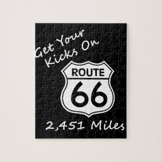 get_your_kicks auf US-Weg 66 Puzzle