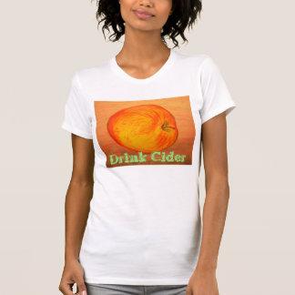 Getränk-Apfelwein T-Shirt
