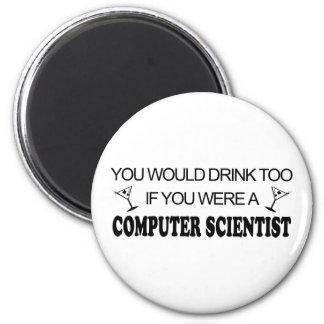 Getränk-auch - Informatiker Magnets