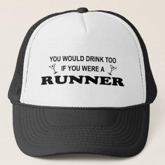 Getränk-auch - Läufer Truckerkappe
