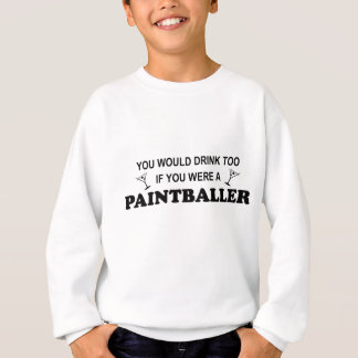 Getränk auch - Paintballer Sweatshirt