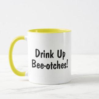 Getränk herauf Beeotches Tasse