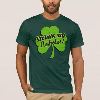Getränk herauf Ein-Löcher! T-Shirt