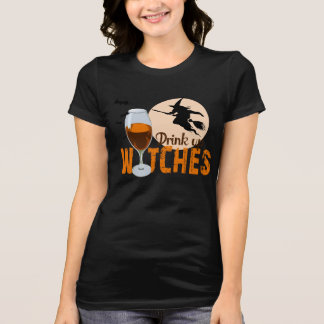 Getränk herauf Hexen - Orange - T-Shirt