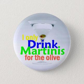 Getränk MARTINIS Knopf Runder Button 5,7 Cm