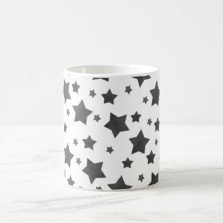 Getränk mit Sternen Kaffeetasse