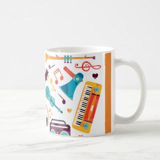 Getränk-Musik Kaffeetasse