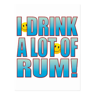 Getränk-Rum-Leben B Postkarte