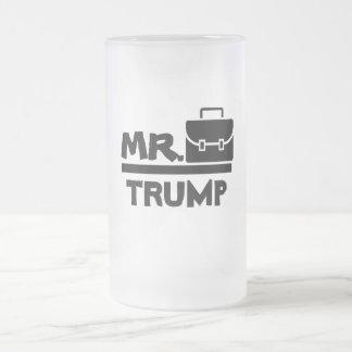 Getränk wie ein Präsident Mattglas Bierglas