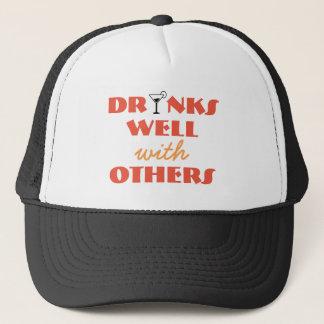 Getränke gut mit anderen Fernlastfahrerhut Truckerkappe