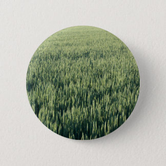 Getreide Feld Runder Button 5,1 Cm