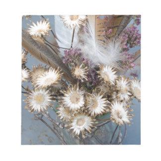 Getrocknete Blumen 1 Notizblock