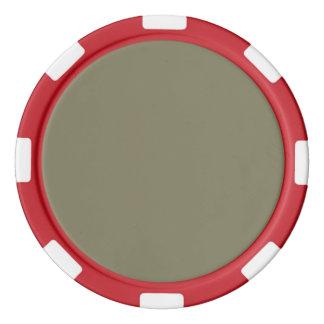 Getrocknete Kraut-Fall Pantone Farbe 2015 Pokerchips