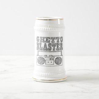 Getto Bläser-Stein Bierkrug