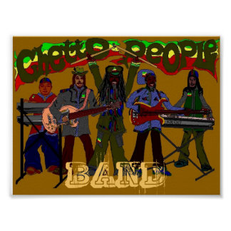 GETTO-LEUTE-BAND Plakat