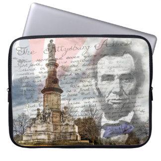 Gettysburg-Adresse Computer Sleeve Schutzhüllen