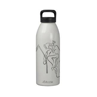 Gevatter HipHop für Halloween Wasserflasche