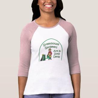Gewächshaus-Gärtner sind in der Zonen-Ablehnung T-Shirt