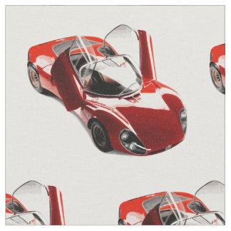 Gewebe Alfa Romeos Tipo 33 Stoff