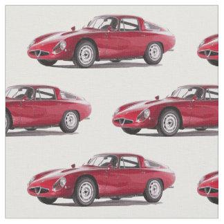 Gewebe Alfa Romeos TZ2 Stoff