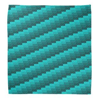 Gewebe (Aquamarine) ™ Bandanna Kopftücher