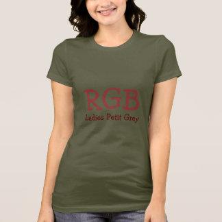 Gewebe-Art, Farbe und Art-Schablone T-Shirt