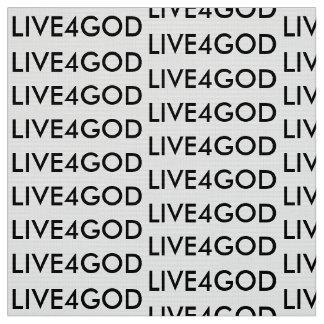 Gewebe - LIVE4GOD Stoff