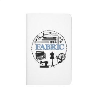 GEWEBE Logo-Taschen-Zeitschrift Taschennotizbuch