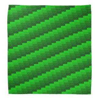Gewebe (Smaragd) ™ Bandanna Kopftücher
