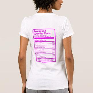 Geweckte israelitische Tatsachen (Rosa) T-Shirt