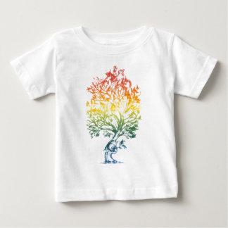 Gewehr-Baum-Bild Baby T-shirt
