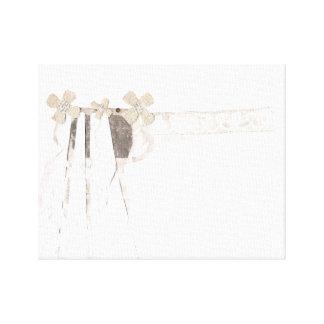 Gewehr-Braut-Leinwand Gespannte Galerie Drucke