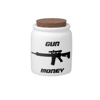 Gewehr-Geld-Glas Keksdosen