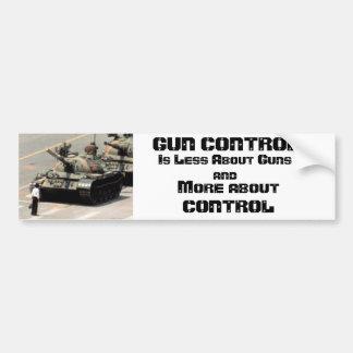 Gewehr-Kontrolle… mehr über Kontrolle Autoaufkleber