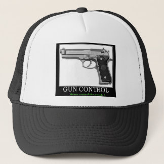 Gewehr-Kontrolle Truckerkappe
