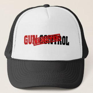 Gewehr-Kontrolle zurückgewiesen Truckerkappe