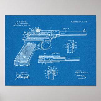 Gewehr-Patent-Kunst des schnellen Feuer-1903, die Poster