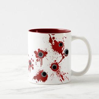 Gewehr-Schuss-Tasse Zweifarbige Tasse