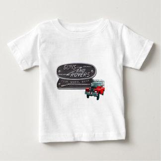 Gewehr-und Vagabund-Rot Rover Baby T-shirt
