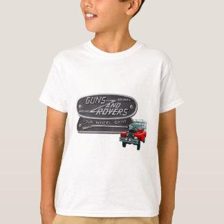 Gewehr-und Vagabund-Rot Rover T-Shirt