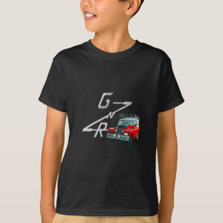 Gewehr- und Vagabundlogo T-Shirt